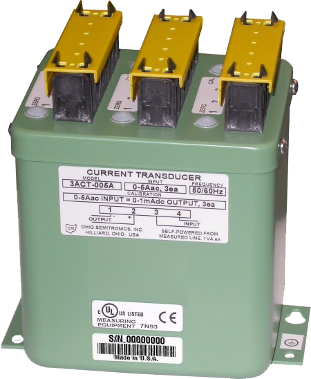 3ACT Three-Phase AC Current Transducer