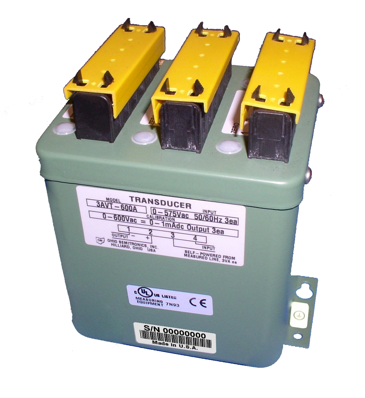 3AVT Three-Phase Voltage Transducer